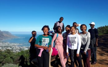 Learners hike up Lions Head